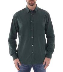 boss noah shirt |open green| 50422525-350