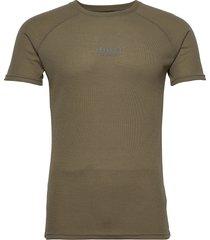 halo military tee t-shirts short-sleeved grön halo