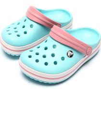 babuche crocs crocband kids azul