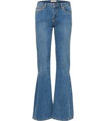 flared jeans mid waist