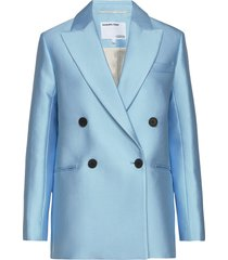 double breasted blazer blazer kavaj blå designers, remix