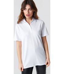na-kd trend pike oversize tee - white