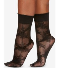 berkshire women's rose floral anklet socks 5122