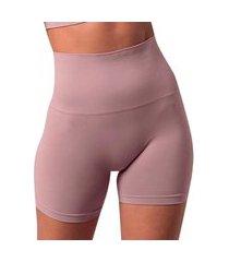 kit 3 cinta de compressão alta she mash modeladora feminina rosa
