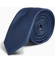 mens blue premium silk tie