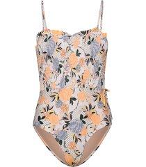sitella smock swimsuit baddräkt badkläder multi/mönstrad becksöndergaard