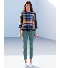 jeans med nitar amy vermont mint