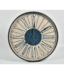 zegar metalowy vintage navy 82 cm