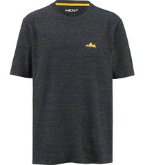t-shirt men plus marine::petrol