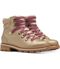 sorel women's lennox hiker lux booties women's shoes