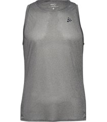 nanoweight singlet m t-shirts sleeveless grå craft