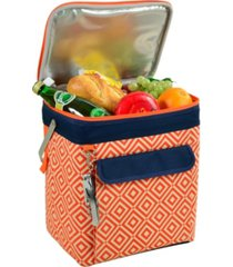 picnic at ascot 6 bottle, multi purpose insulated wine tote - collapsible