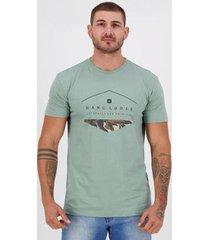 camiseta hang loose silk iv verde - masculino