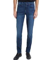 jeans slim denim taper eco denim guess