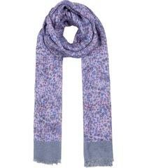 rebecca minkoff delicate blossom fringed long scarf