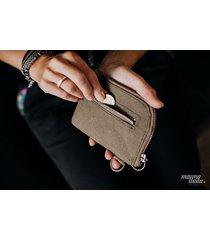 marmollada - portfel z papieru zielony