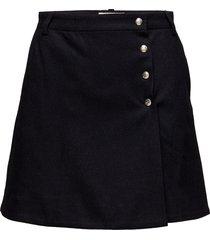 nina skirt kort kjol svart wood wood