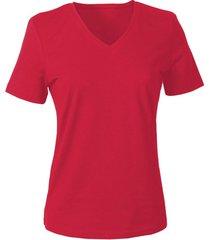 v-shirt voor haar, rood 38
