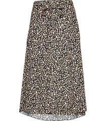 inger johanne 2 knälång kjol multi/mönstrad fall winter spring summer