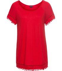 maglia con pompon (rosso) - bodyflirt