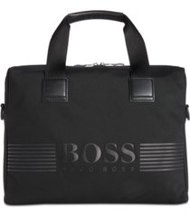 hugo boss men's pixel document case