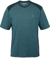 wolverine men's edge sport short sleeve tee blueprint heather, size s