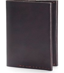ezra arthur no. 4 leather wallet in jet black at nordstrom