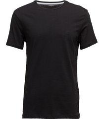 jari refined cotton t-shirts short-sleeved svart calvin klein