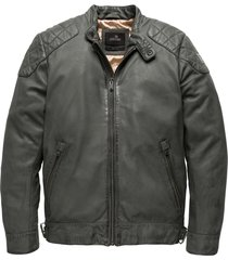 short jacket gunmetal