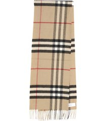 burberry giant check archive beige scarf