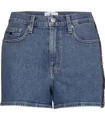 high rise shor shorts denim shorts blå calvin klein jeans