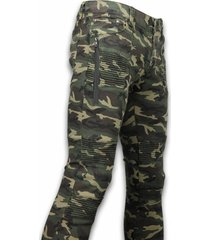 new stone exclusieve ripped camo jeans