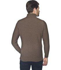 sweter ripon golf brąz