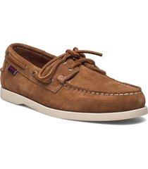 portland flesh out båtskor skor brun sebago