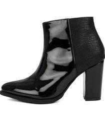 botin negro taches heels.d