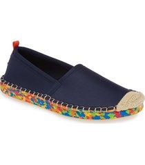 women's sea star beachwear beachcomber espadrille water shoe, size 6 m - blue
