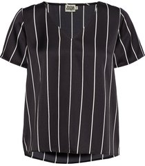 brenda top t-shirts & tops short-sleeved zwart twist & tango