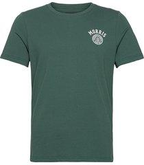 cowper tee t-shirts short-sleeved grön morris
