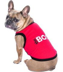 parisian pet the boss dog t-shirt
