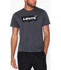 levis housemark graphic tee ssnl hm t-shirts & linnen black