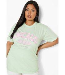 plus chicago t-shirt, mint
