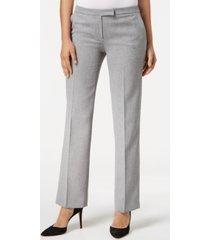 kasper straight-leg trouser pants, regular & petite sizes