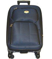 maleta de lona s2 mediana 24pulgadas- azul unicolor
