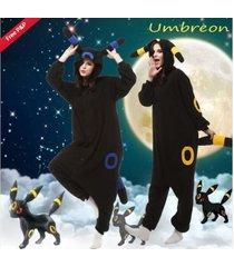 adult unisex onesie1 cosplay pokemon umbreon kigurumi pajamas pyjamas costume