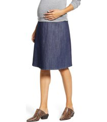 women's maternal america flared maternity skirt