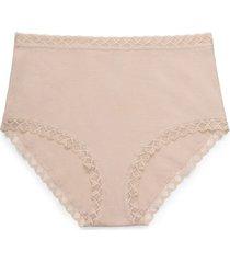 natori bliss full brief panty underwear intimates, women's, cotton, size l natori