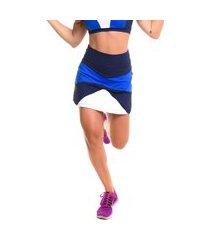 shorts-saia sandy fitness play royal azul marinho