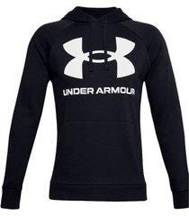 trainingsjack under armour rival fleece big logo hoodie