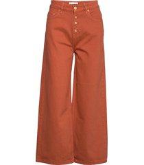 alia clean pants wijde jeans rood blanche