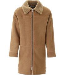 paura shearling coat